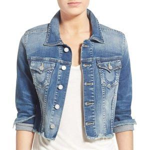 NWOT True Religion denim jacket